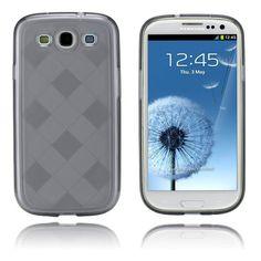 Grid (Harmaa) Samsung Galaxy S3 Suojakotelo