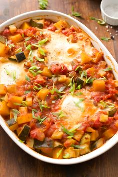 Baked Eggs with Vegg