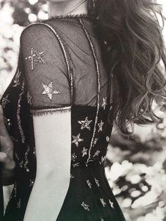 Chanel star dress