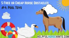 Horse Obstacle - Poo
