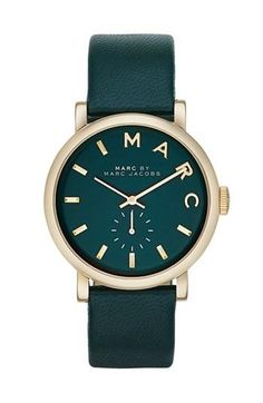 An unexpected color makes a beautiful fall watch.
