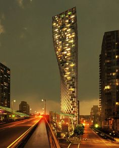 Danish architects BIG have unveiled proposals for a 150-metre-high skyscraper in downtown Vancouver.