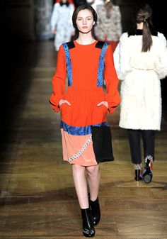 pari 20112012, vans, print dress, noten fall, autumn, van noten, noten pari, dri van, fall 2011