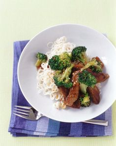 Beef and Broccoli Stir-Fry Recipe - serve with Chinese noodles, white or brown rice