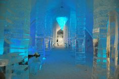 ICE HOTEL IN QUEBEC CITY, CANADA
