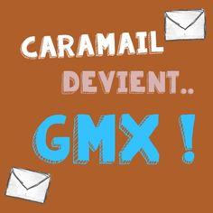 Caramail n'existe plus.. Place à GMX et à sa messagerie gratuite avec 1and1.