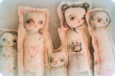 books, folk art, toy, bears, mindi lacefield, primitive art, chocolate trifle, fabric dolls, art dolls