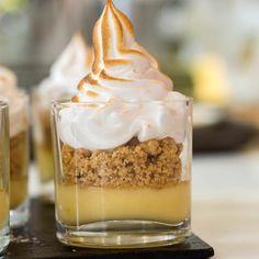Lemon Meringue Pie in a glass