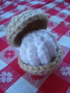 Cream Puff #crochet