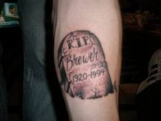 R.I.P. Tattoos And Designs; Rest In Peace Tattoo Ideas And Meanings; Memorial Tattoo Designs And Symbols