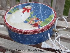 chicken waterer heater.  Just sit the water feeder on top of the heated tin. cooki tin, tin water