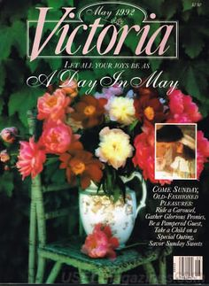 Victoria Magazine May 1992 ~ A Day in May ~ how I miss this magazine!