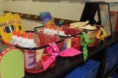 Classroom Organization & BOWS!