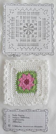 Crochet Square motif.