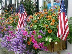 Patriotic Bouquet - wallpapers