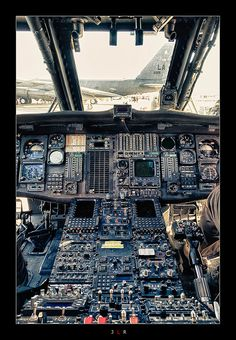 UH-60 cockpit - My former office.