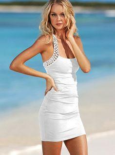 crochet-back bra top dress, $39.99 at Victoria's Secret