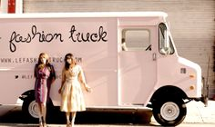 DC2NYConfessions: Boutiques on Wheels from Lucky Mag. Fashion Trucks. I would love to do this!