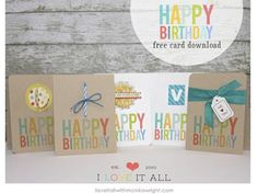 happy birthday cards | free download