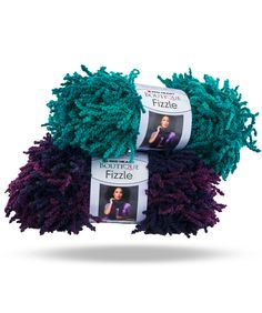 Boutique Fizzle -- With its beautiful shaded tones and unique texture, it's easy to add some fun with Fizzle! The track on this shaggy yarn makes your one ball scarves a breeze to make!   Fizzle can be hand chained into an even easier scarf that anyone can create in just minutes.