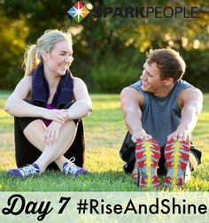 Good morning, everyone! Welcome to Day 7 of our #RiseAndShine #challenge!  Can't muster up the motivation to exercise in the morning? Tell yourself you only have to do 10 minutes. Chances are, you'll want to keep going once the 10 minutes is up, but even if you don't, that's OK--as long as you're being consistent and continuing to set bigger goals, you'll still see improvements. Remember, slow progress is better than NO progress! | via @SparkPeople
