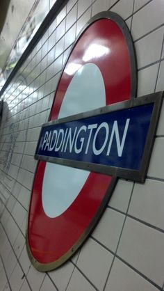 Paddington station, London Underground 17 May 2012