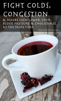 This tea may help fight a cold and may even lower your blood pressure and cholesterol at the same time…. Health Foods Drinks, Cold, Nature Remedies, Flowers Teas, Helpful Fight, Blood Pressure, Homeopathicnatur Remedies, Hibiscus Flowers, Hibiscus Teas