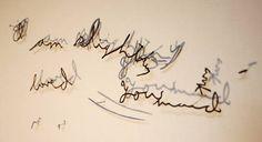 Annie Vought's Paper Cut Letters | Trendland: Fashion Blog & Trend Magazine