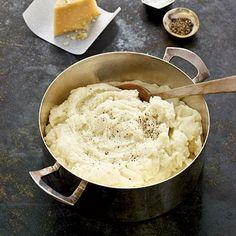 Buttermilk-Parmesan Mashed Potatoes | CookingLight.com