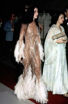Cher in Bob Mackie