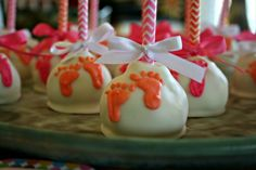 """""""About to Pop"""" Baby Shower Cake Pops"""