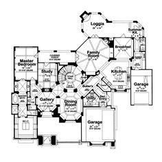 Luxurious Amenities Galore - Plan 026S-0020 | houseplansandmore.com