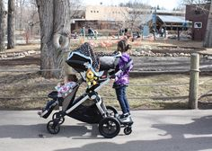 i want this stroller! baby jogger- city select.