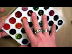 Learn some great ideas and uses for Ranger's Ink Palette & Water Brushes from Creative Director Tim Holtz.