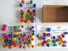5 fun activities using shape blocks.