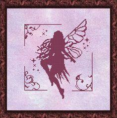 fairy cross stitch pattern HeartStitch Designs: Freebies