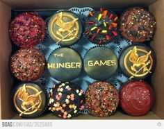 hunger games cupcakes.