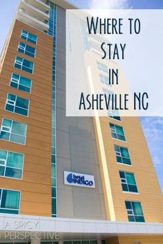 Where to Stay in Asheville, NC | ASpicyPerspective.com #travel #asheville #vacation #traveltips