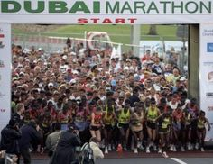 #Dubai Marathon Event, #stepbystep