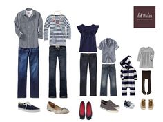 family photos -- outfit idea / minus the little girls outfit & probably a different outfit for the little boy