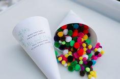 Romantic Agoura Hills Wedding balls, pom poms, rice, wedding ideas, sendoff, pom pom confetti, dream board, winter weddings, photography