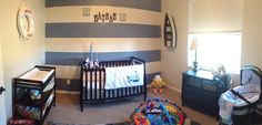 Baby Nathan's nursery