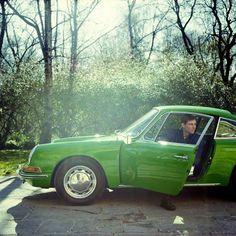 Green 911, by the wonderful Carol Sachs