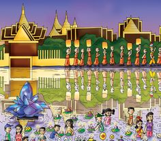 "Chaz, ""In Thailand, they put all kinds of lights in the water at the Festival of Lights! It's awesome!""  Order ""Find the Cutes - Playtime"" on www.findthecutes.com or go to Amazon.  #Findthecutes #Cutekids #Festivaloflights #Thailandlights #Thailandfestivals #Cutechildren #Cutefamily #Childrensbooks #Lookandfindbooks #Lookandfind #Seekandfind"