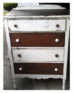 Vintage dresser redo