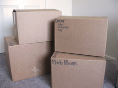 Tips for Having a Sane and Organized Move.