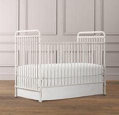 Millbrook Iron Crib | Cribs | Restoration Hardware Baby & Child  $849