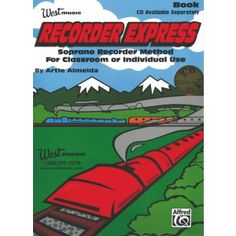 Recorder Express book and CD #westmusic #inspiremyclass
