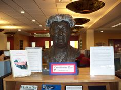 Bust of Fr. Bartley MacPhaidin...celebrating September 17, Constitution Day!