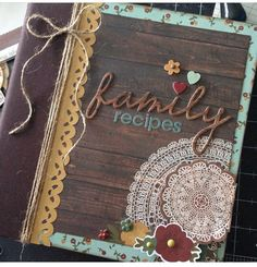 Legacy Family Recipe SN@P! Binder - designed by Layle Koncar